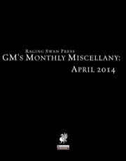 GM's Monthly Miscellany: April 2014 (PFRPG) PDF