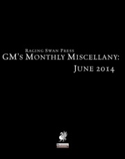 GM's Monthly Miscellany: June 2014 (PFRPG) PDF