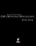 GM's Monthly Miscellany: July 2014 (PFRPG) PDF