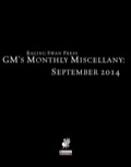 GM's Monthly Miscellany: September 2014 (PFRPG) PDF
