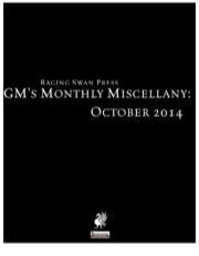 GM's Monthly Miscellany: October 2014 (PFRPG) PDF