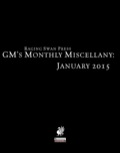 GM's Monthly Miscellany: January 2015 (PFRPG) PDF