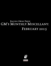 GM's Monthly Miscellany: February 2015 (PFRPG) PDF
