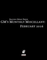 GM's Monthly Miscellany: February 2016 (PFRPG) PDF