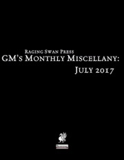 GM's Monthly Miscellany: July 2017 (PFRPG) PDF
