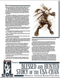 Blessed and Hunted: The Story of the Usa-Chan (PFRPG) PDF