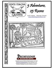 5 Adventures, 25 Rooms (PFRPG) PDF