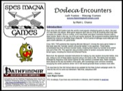 Dodeca Encounters (PFRPG) PDF