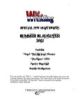 Wild World Wrestling RPG: Special PPV Main Event:: Summer Slaughter 2012 PDF
