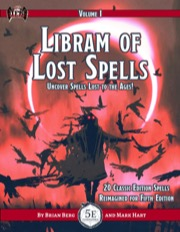 Libram of Lost Spells, vol. I (5E) PDF