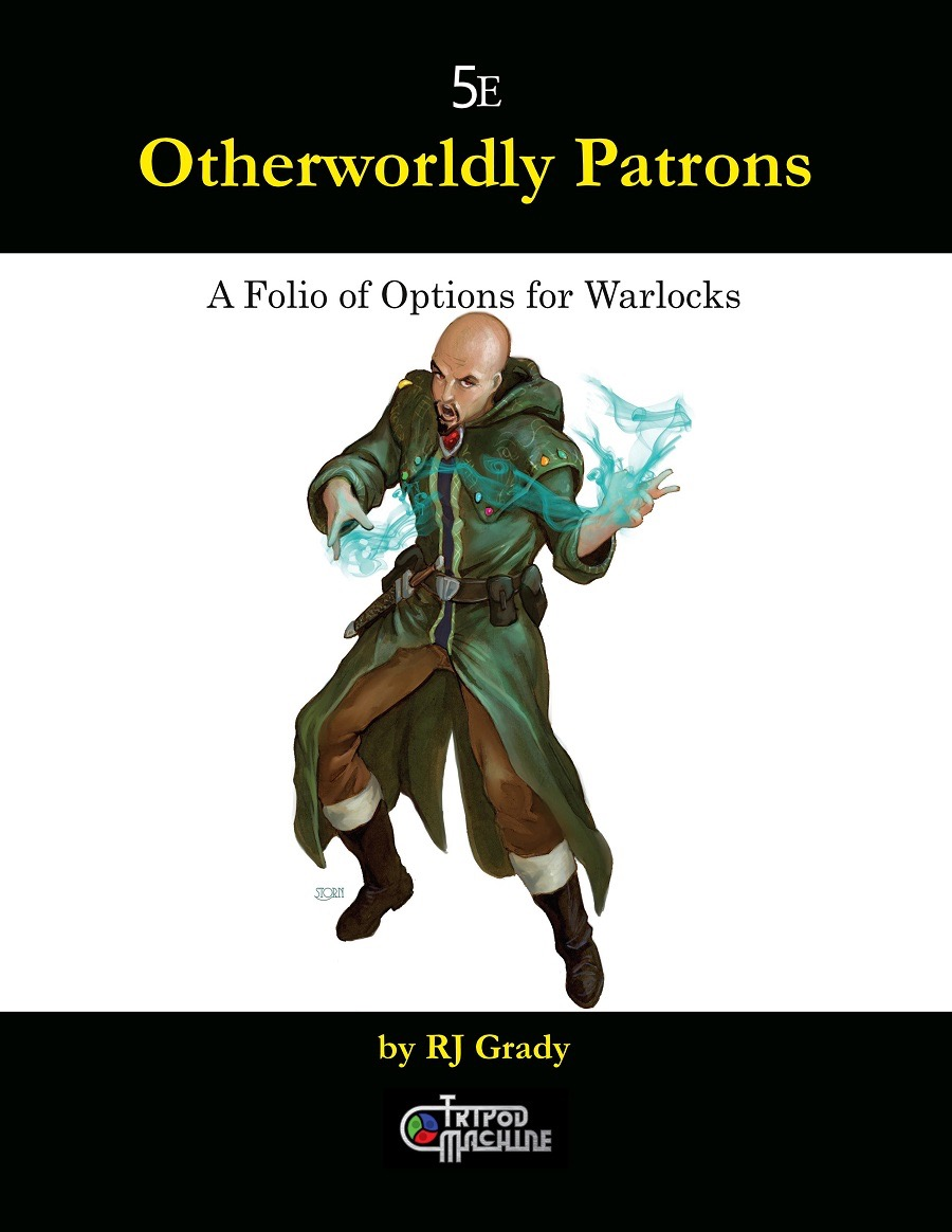 paizo com - Otherworldly Patrons, A Folio of Options for Warlocks