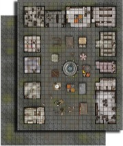 GameMastery Flip-Mat: City Market