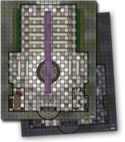 GameMastery Flip-Mat: Cathedral