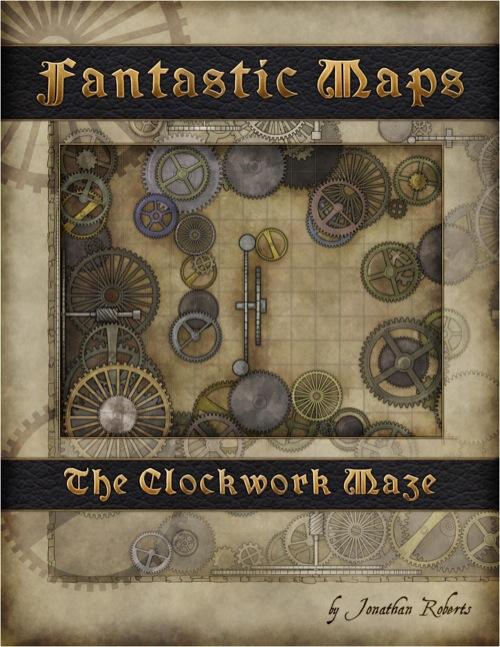 Paizo Com Fantastic Maps The Clockwork Maze Pdf