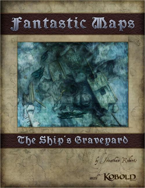 Fantastic Maps: The Ship's Graveyard PDF