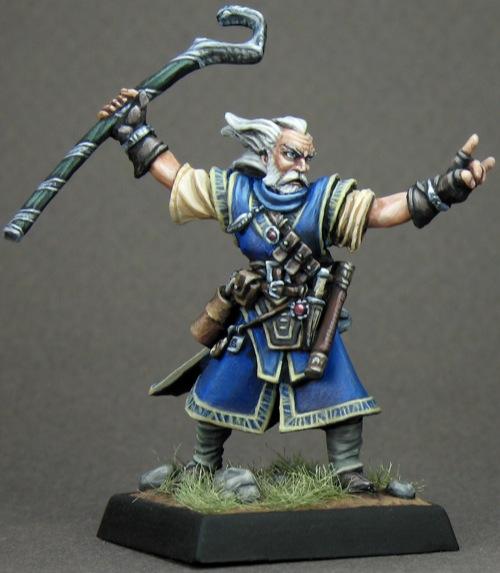 Pathfinder Miniatures: Ezren, Iconic Human Wizard
