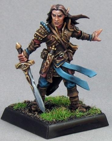 Pathfinder Miniatures: Arael, Half-Elf Cleric