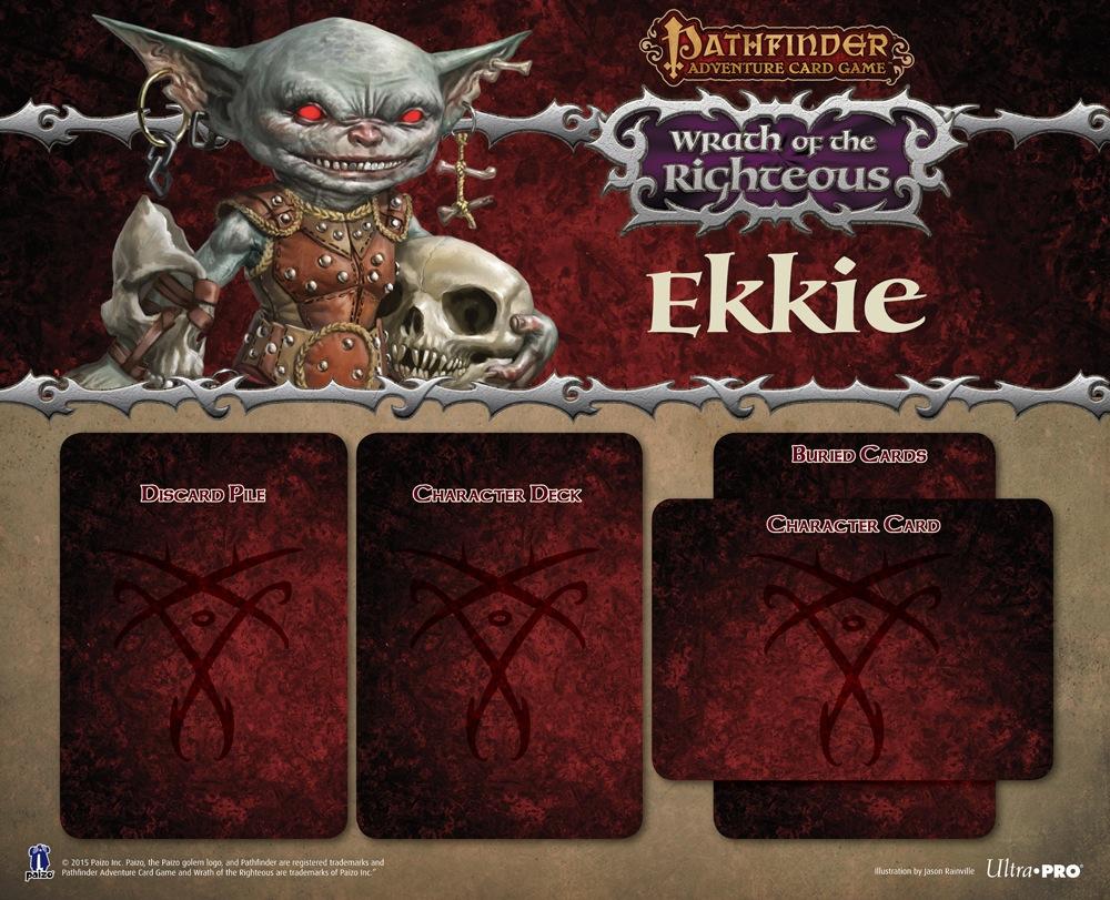 Paizo Com Pathfinder Adventure Card Game Character Mats Ekkie
