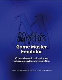 Mythic Game Master Emulator PDF
