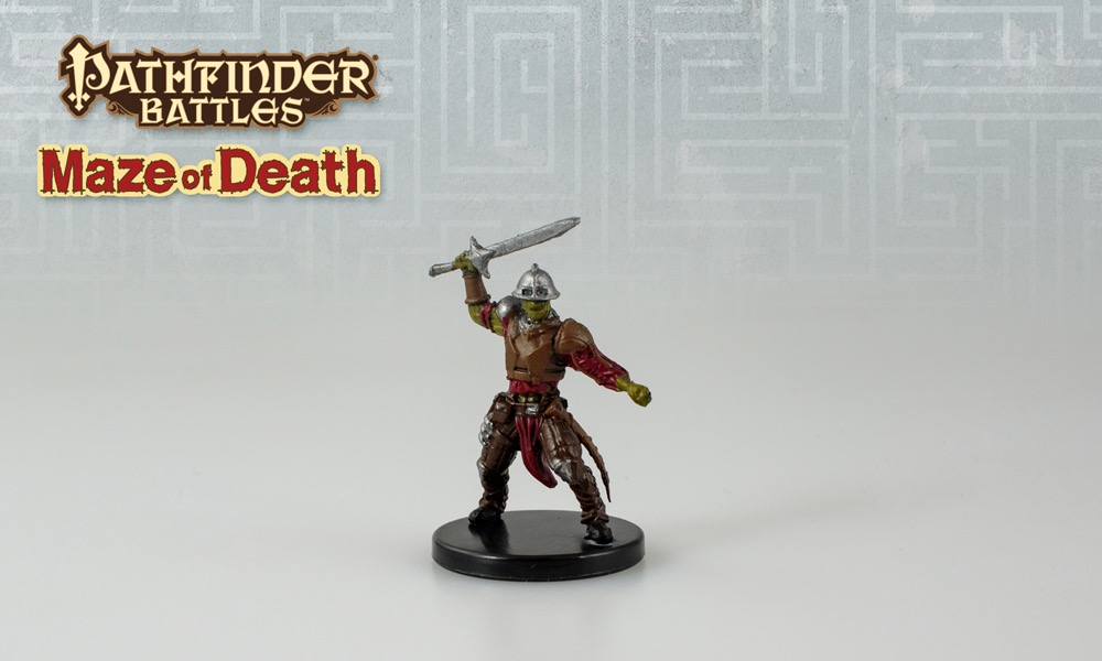 Pathfinder Battles—Maze of Death: Juju Zombie