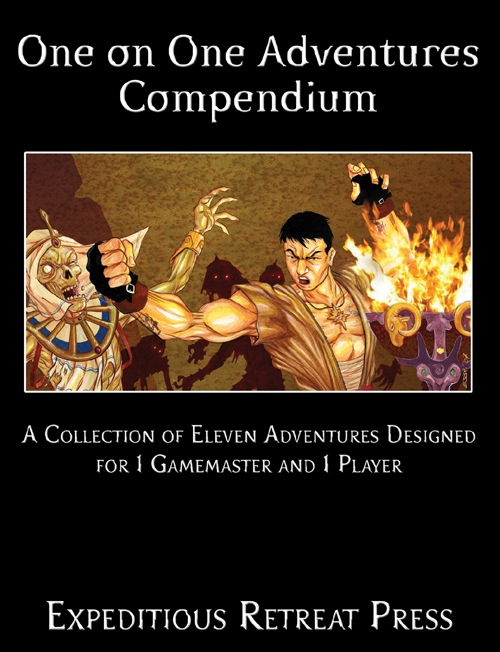 One on One Adventures Compendium (PFRPG)