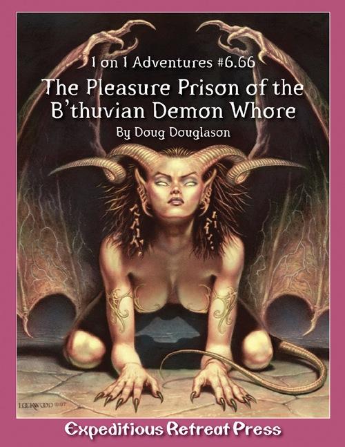 Cover of 1 on 1 Adventures #6.66: Pleasure Prison of the B'thuvian Demon Whore