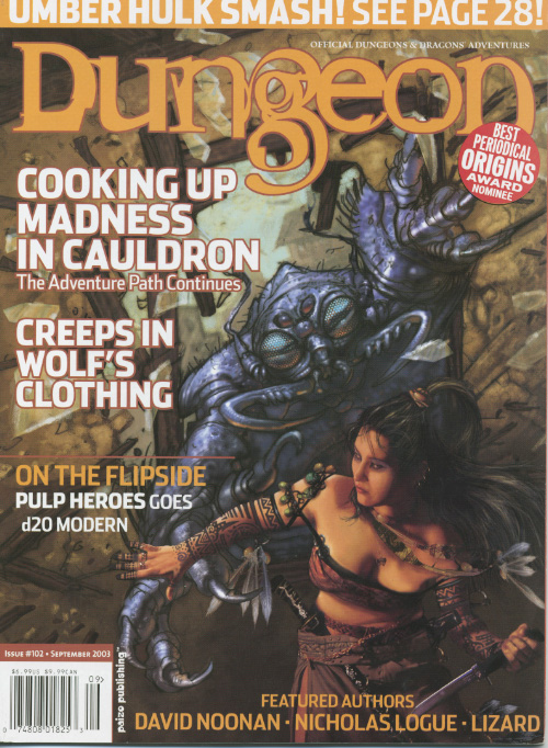 Dungeon Issue #102 with Polyhedron #161