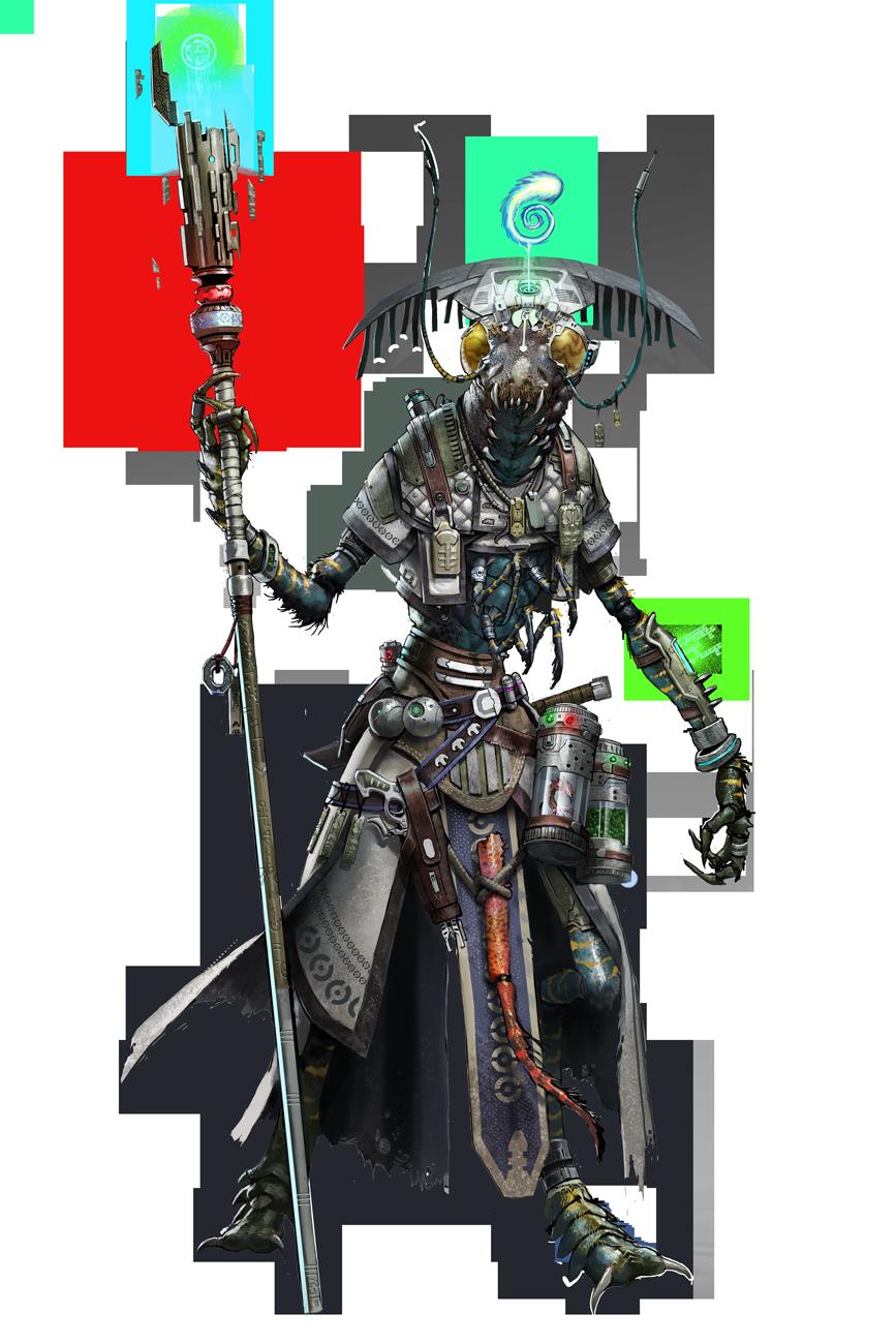 Starfinder Iconic, Keskodai the Mystic Shirren