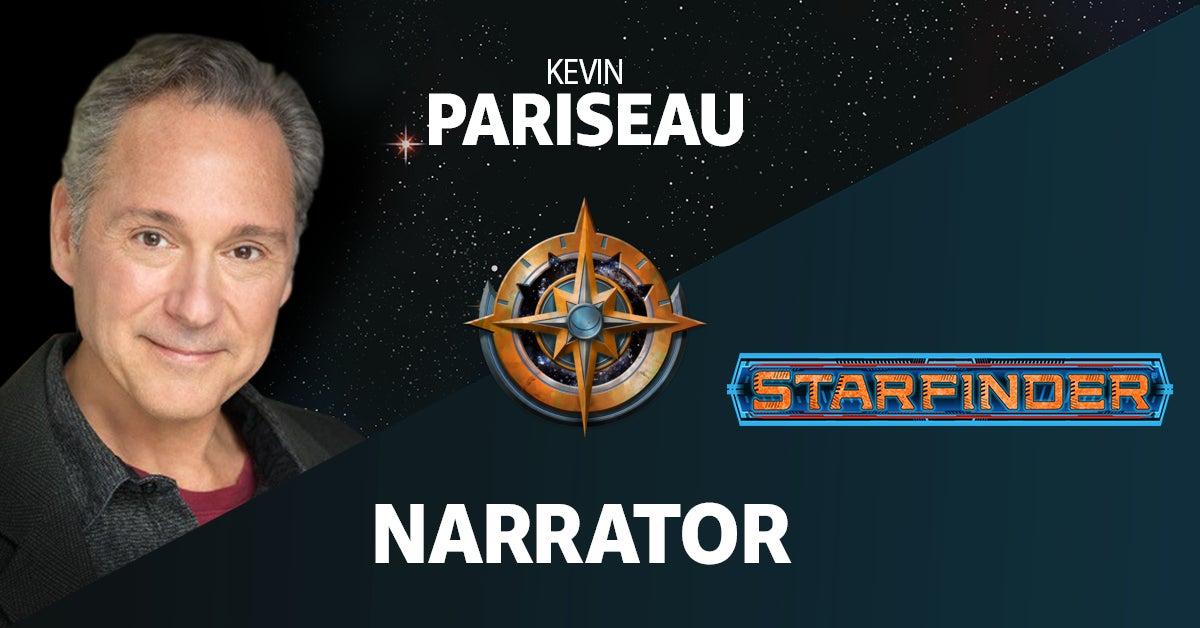 Kevin Pariseau as the Narrator