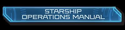 Starship Operations Manual logo