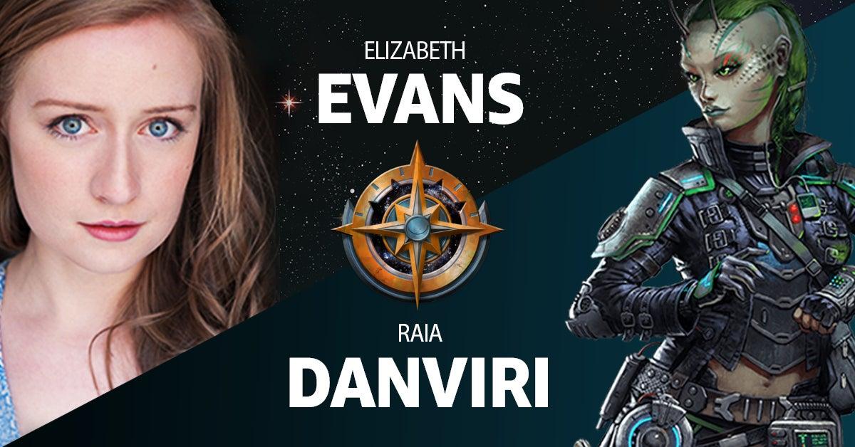 Elizabeth Evans as Raia Danviri