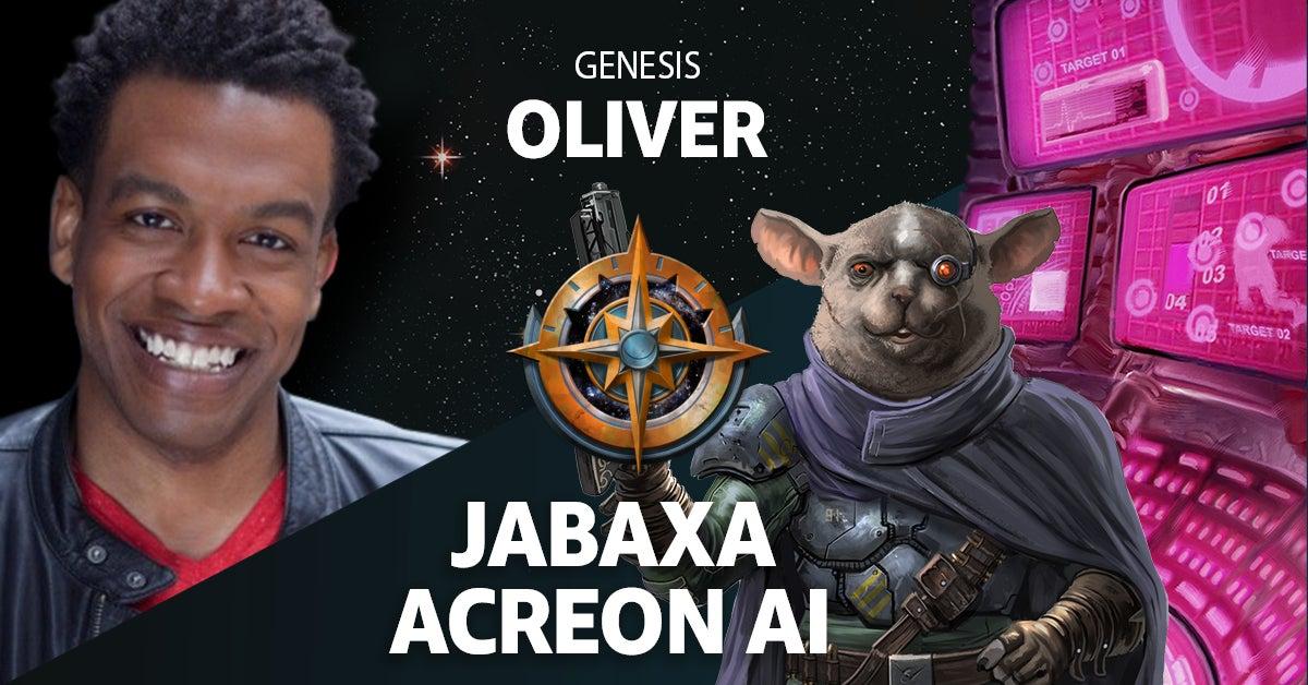 Genesis Oliver as Jabaxa Acreon Ai